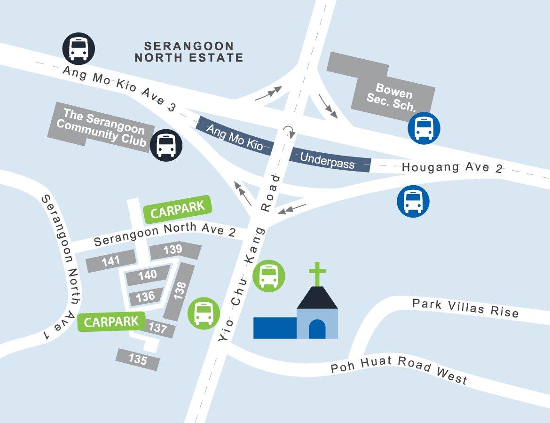 contact us yck chapel map location