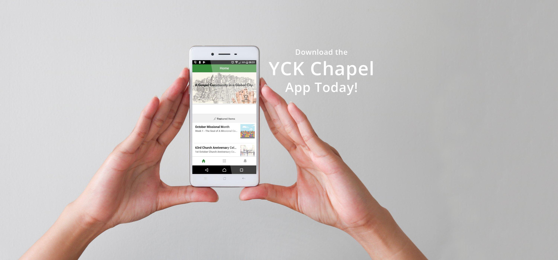 home banner yck chapel app