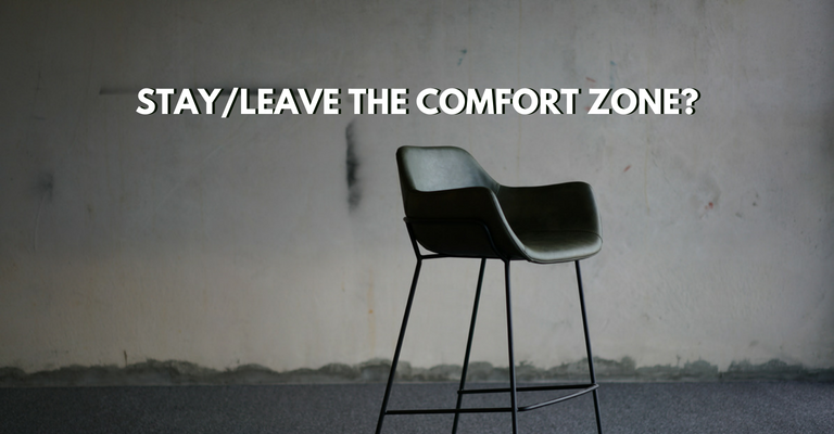 Stay/Leave The Comfort Zone