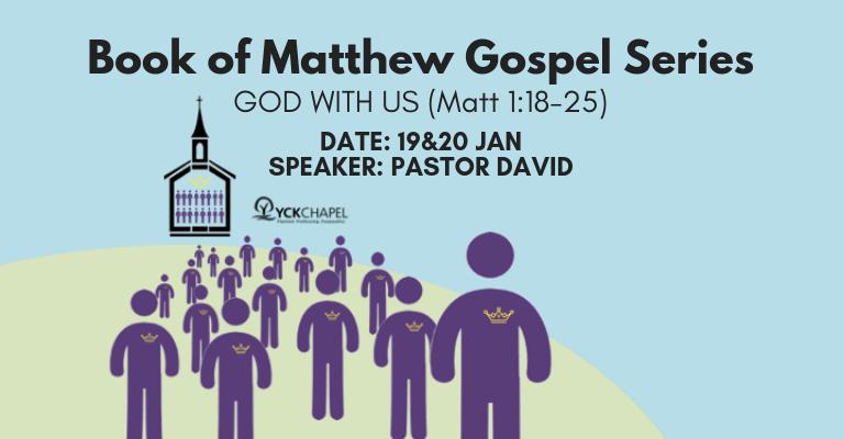 GOD WITH US (Matt 1:18-25)