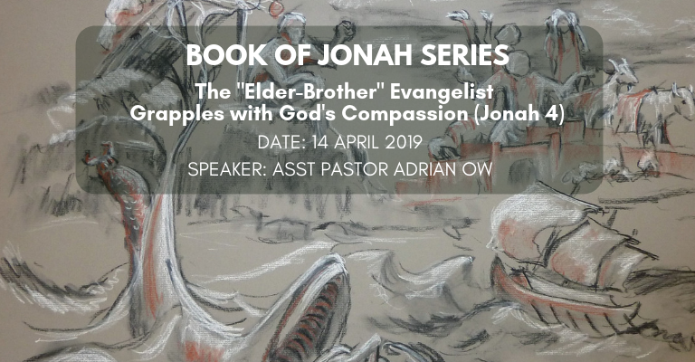 "The ""Elder-Brother"" Evangelist Grapples with God's Compassion (Jonah 4)"